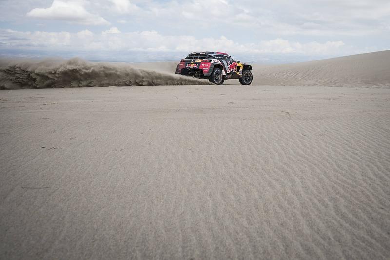 #308 Peugeot Sport Peugeot 3008 DKR: Сіріль Депре, Давід Кастера