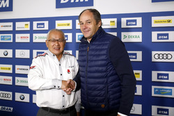 Press Conference: Masaki Bando, Chairman GTA and Gerhard Berger, ITR Chairman