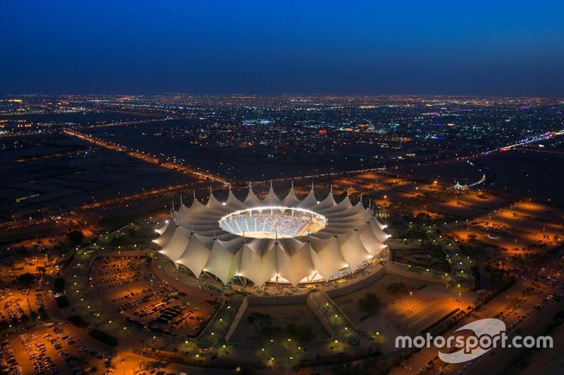 Stadion Internasional King Fahd di Riyadh, Arab Saudi