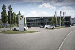 Porsche Motorsport building