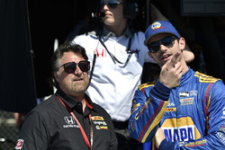 Michael Andretti and Alexander Rossi, Herta - Andretti Autosport Honda