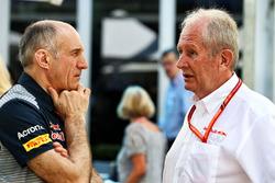 Franz Tost, Scuderia director de Toro Rosso Team y Dr Helmut Marko, Red Bull Motorsport Consultor