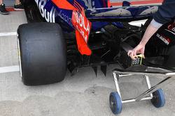 Scuderia Toro Rosso STR12 parte trasera