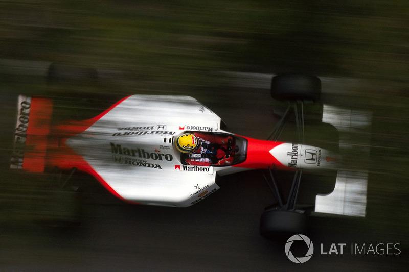 1992 Monaco: McLaren MP4/7A