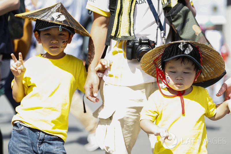 Joven fan de Renault Sport F1 Team