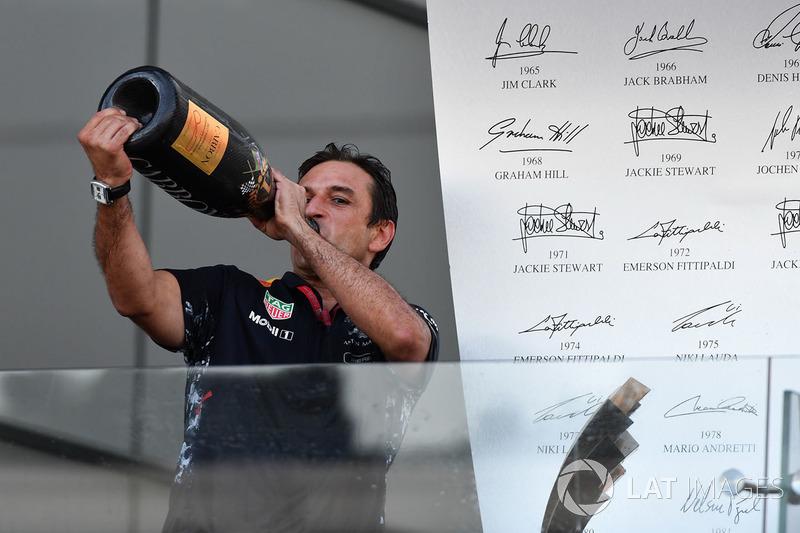 Pierre Wache, Red Bull Racing