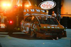 Unfallauto von Carl Edwards, Joe Gibbs Racing, Toyota
