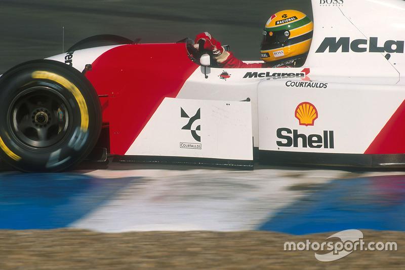 Ayrton Senna, McLaren MP4/8 Ford