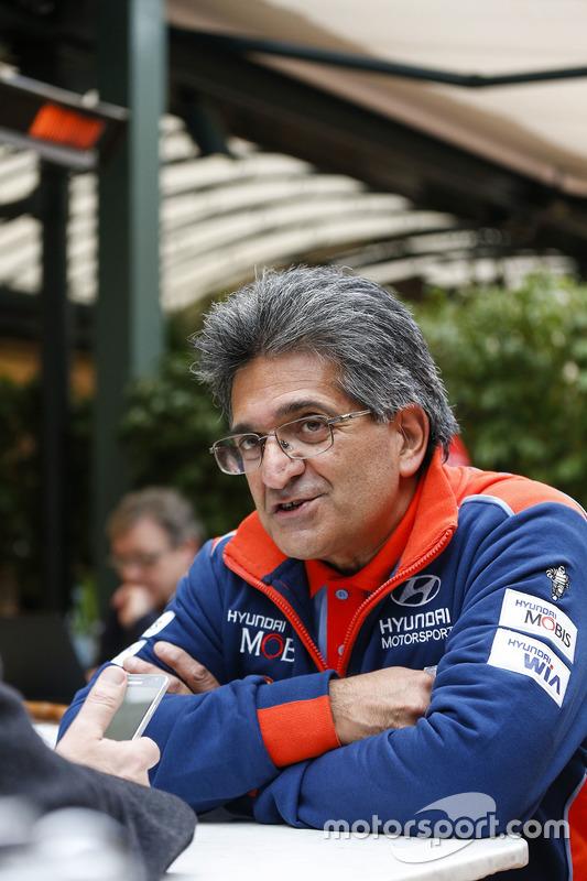 Michel Nandan, Hyundai Motorsport, Teamchef