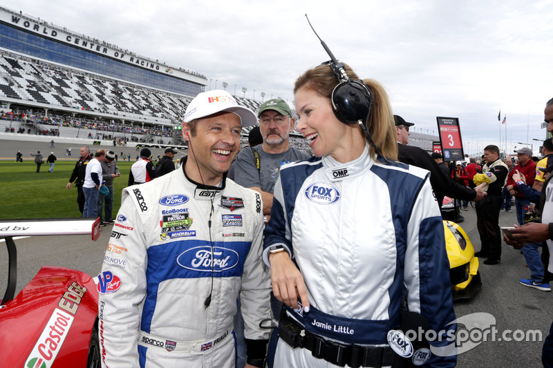 Andy Priaulx, Ford Performance Chip Ganassi Racing with Jamie Little, FOX Sports