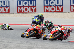 Dani Pedrosa, Repsol Honda Team; Marc Marquez, Repsol Honda Team