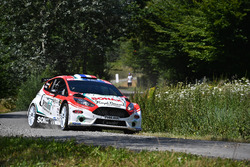 Бриан Буффье и Жильбер Дини, Ford Fiesta R5, Gemini Clinic Rally Team