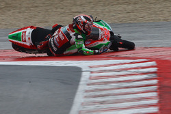 Sam Lowes, Aprilia Racing Team Gresini, caída