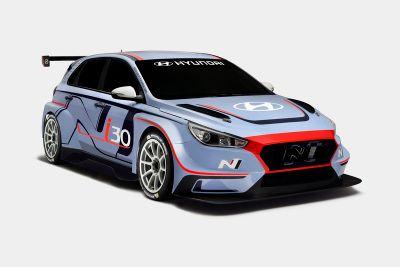 Dévoilement de la Hyundai i30 TCR