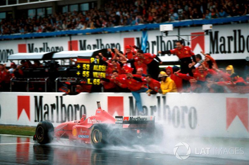Michael Schumacher, GP da Espanha 1996 / Posição: 1º