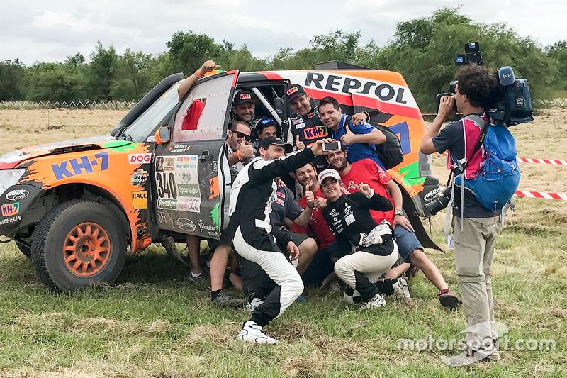 #340 Mitsubishi: Isidre Esteve, Txema Villalobos