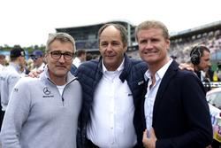 Bernd Schneider, Gerhard Berger, David Coulthard
