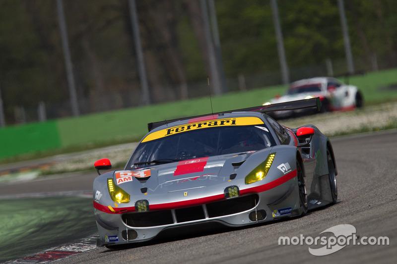 #51 AF Corse, Ferrari 488 GTE: James Calado, Alessandro Pier Guidi
