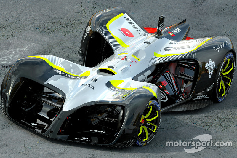 RoboRace car