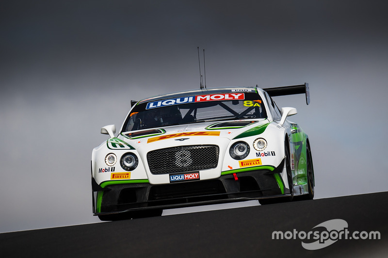 #8 Bentley Team M-Sport, Bentley Continential GT3: Steven Kane, Guy Smith, Oliver Jarvis