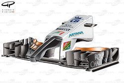 DUPLICATE: Force India VJM09 front wing and nose