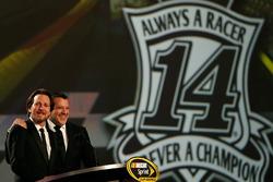 Tony Stewart, Stewart-Haas Racing and Eddie Vedder