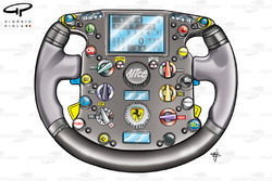 Ferrari F2007 (658) 2007 steering wheel