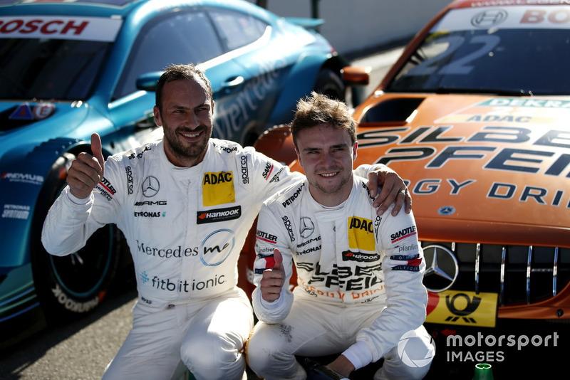 Перший стартовий ряд був за гонщиками Mercedes
