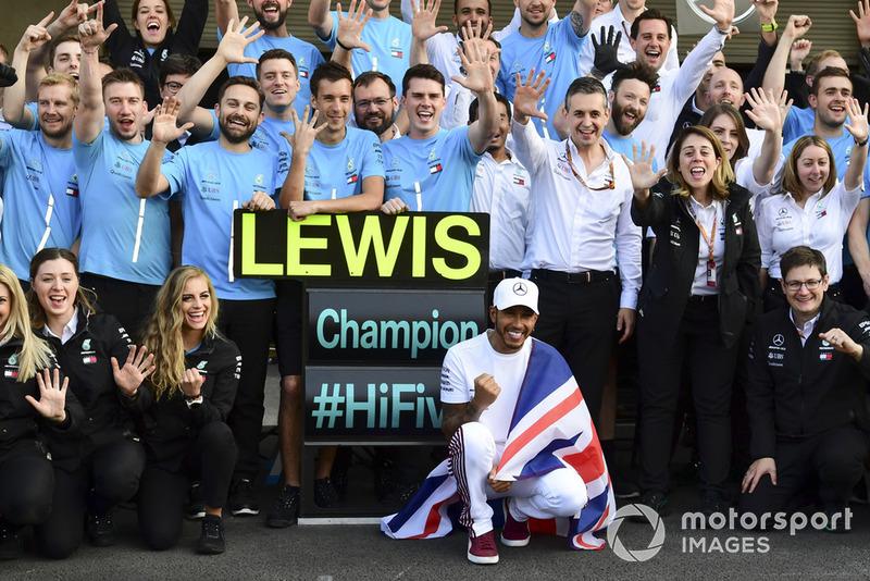Formel-1-Weltmeister 2018: Lewis Hamilton, Mercedes