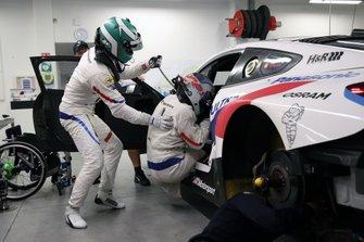 #24 BMW Team RLL BMW M8 GTE, GTLM: Jesse Krohn, Alex Zanardi