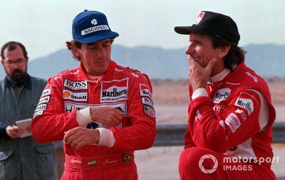 Ayrton Senna Penske test