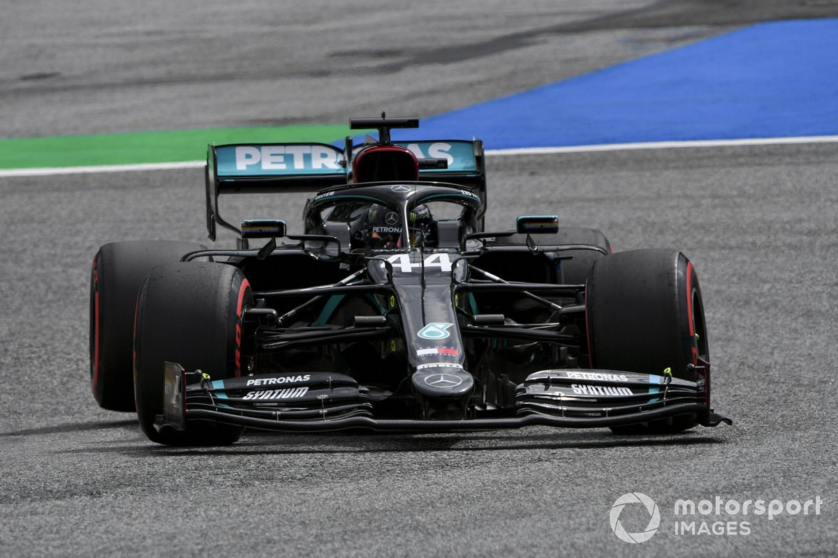 P2 Lewis Hamilton, Mercedes F1 W11 EQ Performance