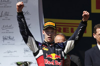 Daniil Kvyat, Red Bull Racing, second place