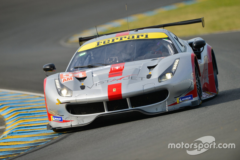 49. Томас Флор, Франческо Кастеллаччи, Джанкарло Физикелла, Spirit of Race, Ferrari 488 GTE (№54)