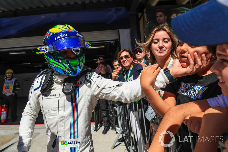 Felipe Massa, Williams, parc ferme