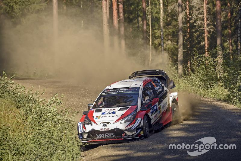 Michelin Magic Moment: Ott Tanak, Martin Järveoja - Toyota Gazoo Racing - Vincitori di 3 gare consecutive