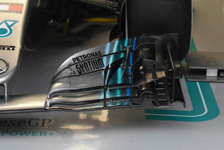 Detail of the car of Valtteri Bottas, Mercedes AMG F1 W09