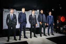 Norman Nato, Sergey Sirotkin, Renault Sport F1 Team Test Driver, Charles Leclerc, Sauber, Sean Gelae