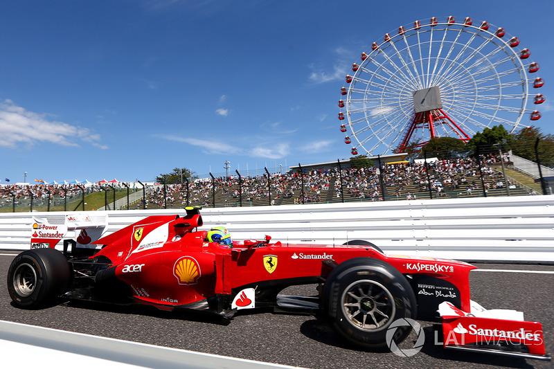"""2012: سيارة فيراري """"اف2012"""" – 122 نقطة، المركز السابع في البطولة"""