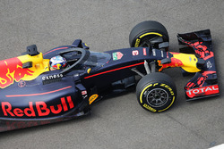 Daniel Ricciardo Red Bull Racing RB12 with the Aero Screen & Red Bull: F1 needs to make canopy decision in next few weeks