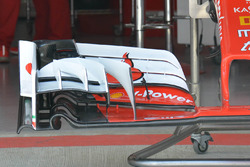 New Ferrari SF16-H front wing detail