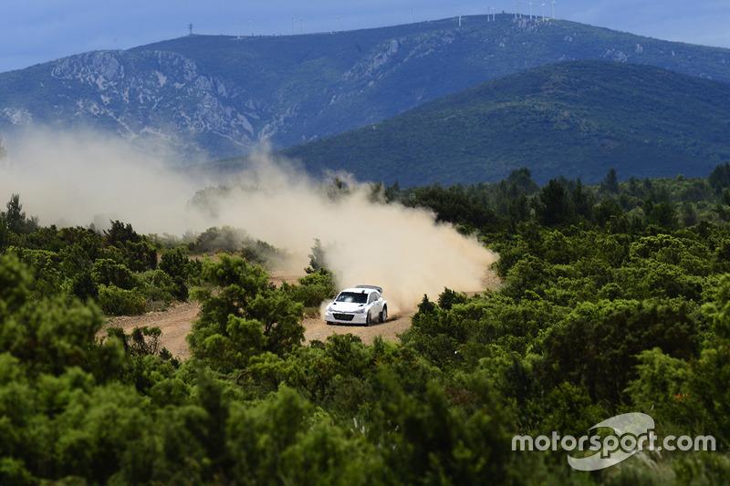 Hyundai i20 WRC 2017 testi