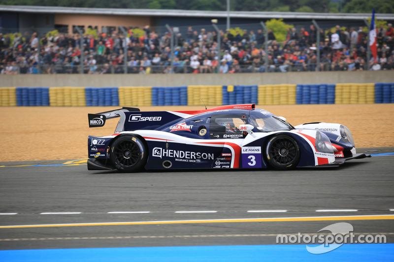 #3 United Autosports Ligier JSP3 - Nissan: Guy Cosmo, Mike Hedlund