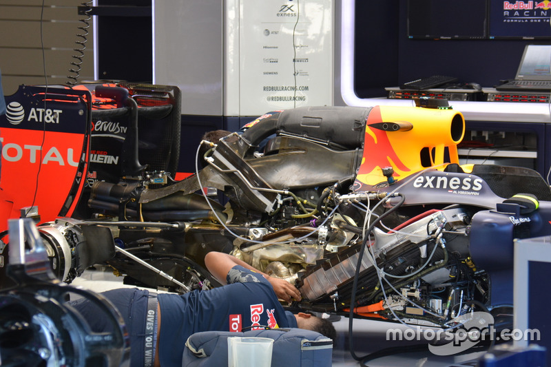 Motor des Red Bull Racing RB 12