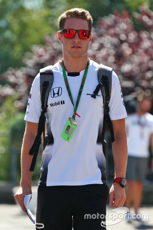 Stoffel Vandoorne, Collaudatore e pilota di riserva McLaren