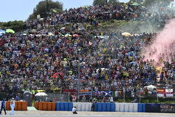 Valentino Rossi, Yamaha Factory Racing with the fans