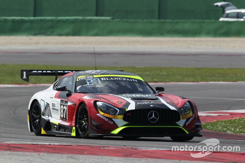 Jean-Luc Beaubelique, Morgan Moullin-Traffort, Mercedes-AMG GT3, AKKA ASP