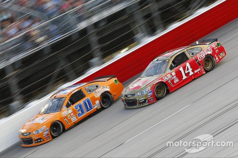 Tony Stewart, Stewart-Haas Racing, Josh Wise, The Motorsports Group Chevrolet