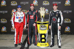 Les pilotes Stewart-Haas dans le Chase, Tony Stewart, Kurt Busch, Kevin Harvick