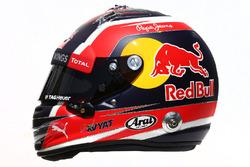 Il casco di Daniil Kvyat, Red Bull Racing
